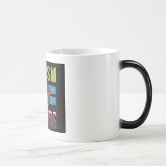 """""""自閉症子供"""" WOW! 極度の変形させるマグ マジックマグカップ"""