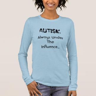 自閉症、カスタマイズsolitarymind - 長袖Tシャツ