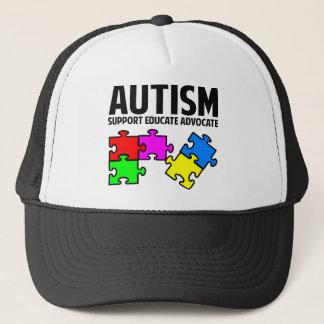 自閉症 キャップ