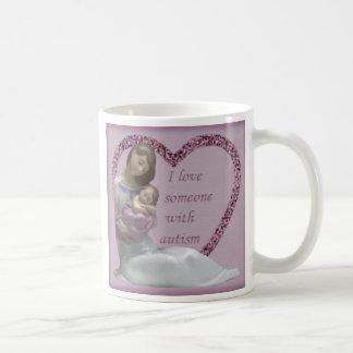 自閉症 コーヒーマグカップ