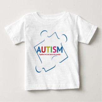 自閉症 ベビーTシャツ