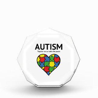 自閉症 表彰盾