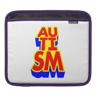 自閉症 iPadスリーブ