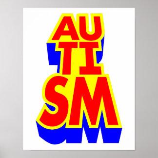 自閉症Awarenss ポスター