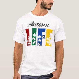 自閉症life5 tシャツ