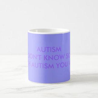自閉症YOとの誰かを…知らなければ自閉症 コーヒーマグカップ