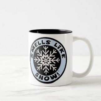 臭いは雪を好みます! コーヒーカップ