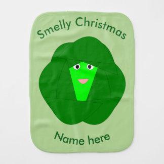 臭いクリスマスの芽キャベツのバープクロス バープクロス