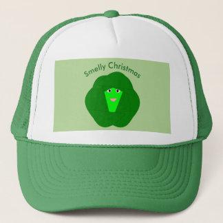 臭いクリスマスの芽キャベツの帽子 キャップ