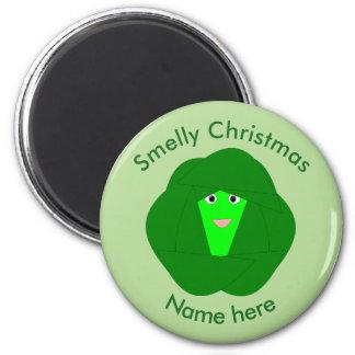 臭いクリスマスの芽キャベツの磁石 マグネット