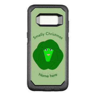 臭いクリスマスの芽キャベツの電話箱 オッターボックスコミューターSamsung GALAXY S8 ケース