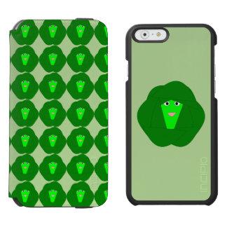 臭いクリスマスの芽キャベツのiPhoneの場合 iPhone 6/6sウォレットケース