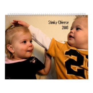 臭いチーズ2008年 カレンダー