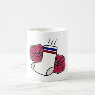 臭い//のソックスのマグ コーヒーマグカップ