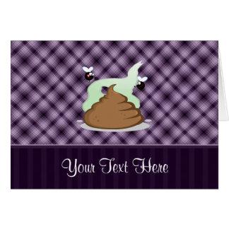 臭いPoo; 紫色 カード
