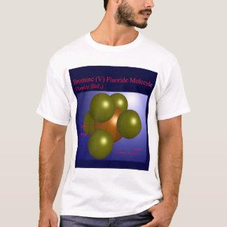 臭素(v)のフッ化物の分子(前部) tシャツ