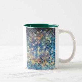 至のダンスのコーヒー・マグ ツートーンマグカップ