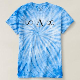 至福のwmのサイクロンのtiedye T Tシャツ