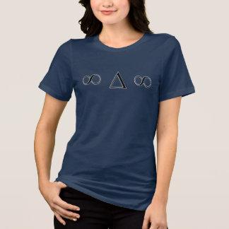 至福のwmは適当なjersey Tをリラックスします Tシャツ