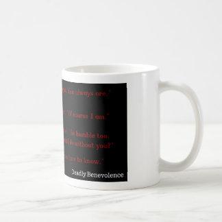 致命的な慈善のティーザー コーヒーマグカップ