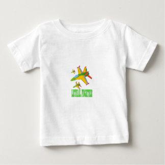 致命的な戦闘機 ベビーTシャツ