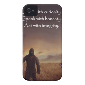 興味と話します正直者の行為ととの聞いて下さい Case-Mate iPhone 4 ケース