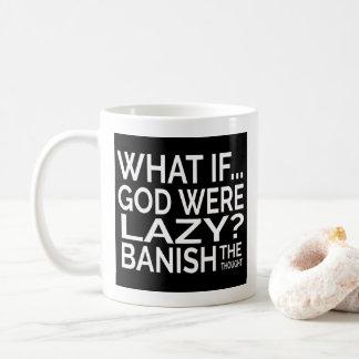 興味深い思考 コーヒーマグカップ