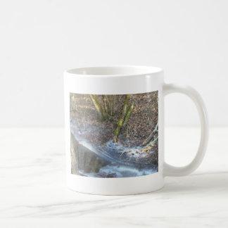 興味深い氷のひび コーヒーマグカップ