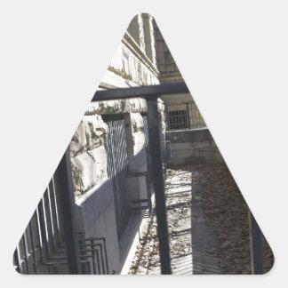 興味深い細道の方法、都心のサンノゼ、カリフォルニア 三角形シール