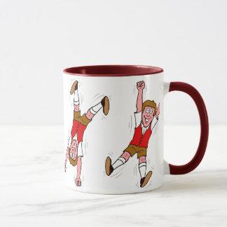 興奮する男の子 マグカップ