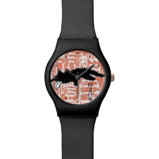 舌の子ネコ 腕時計