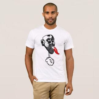 舌のTシャツが付いているLosMoyasの頭部 Tシャツ