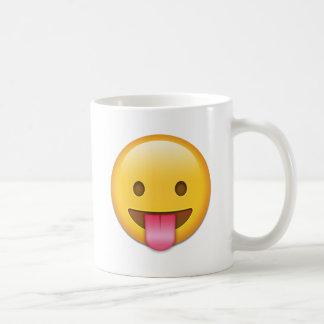 舌生意気なEmoji コーヒーマグカップ