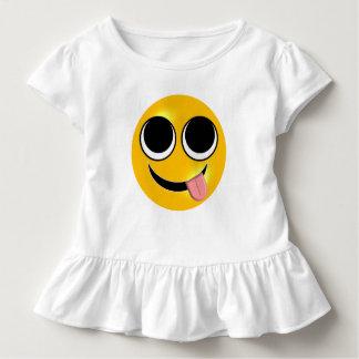 舌Emoji トドラーTシャツ