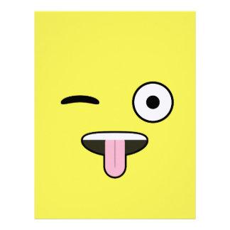 舌Emoji レターヘッド