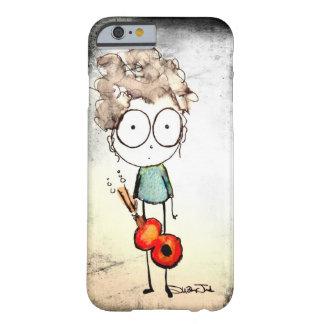 舞台恐怖症のギターの女の子 BARELY THERE iPhone 6 ケース