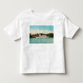 舟とのサクラメント川場面 トドラーTシャツ