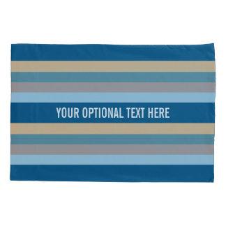 航海のでストライプでカスタムな枕カバー 枕カバー