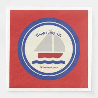 航海ので愛国心が強い紙ナプキン