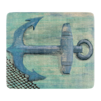航海のないかりのまな板 カッティングボード
