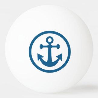 航海のないかりのカスタムなモノグラムのピンポン球 卓球ボール