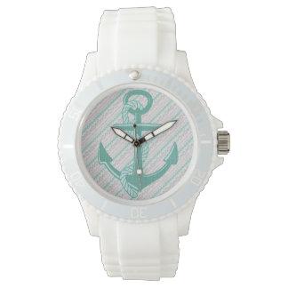 航海のないかりのストライプのでスポーティなeWatchの腕時計 リストウォッチ
