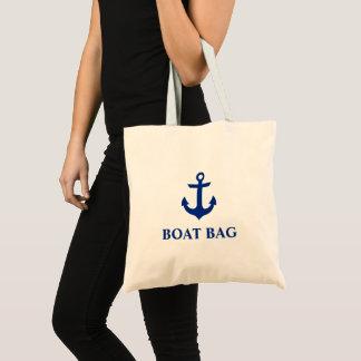 航海のないかりのボートのバッグのトートバック トートバッグ