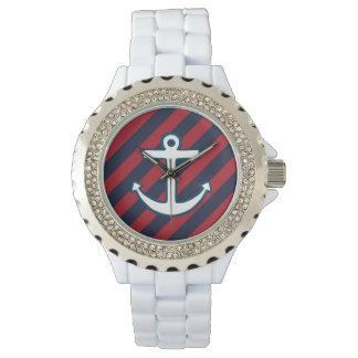 航海のないかりの腕時計 ウオッチ