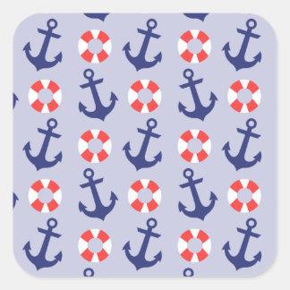航海のないかりパターン スクエアシール