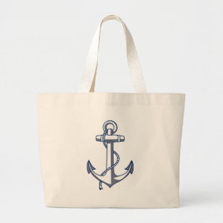 航海のないかり ラージトートバッグ