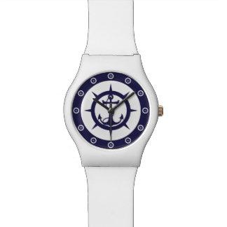 航海のないかり 腕時計