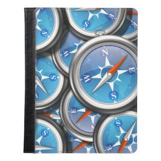 航海のなコンパスの山 iPadケース
