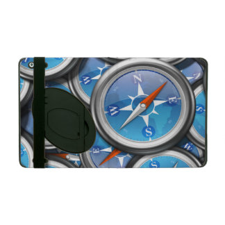 航海のなコンパスの山 iPad ケース
