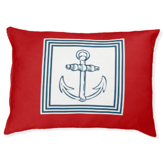 航海のなテーマのデザイン ペットベッド